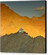 Stairs To Tsemo Canvas Print by Aaron Bedell