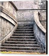 Stairway To The Unknown Canvas Print by Sandra Bronstein