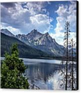 Stanley Lake View Canvas Print