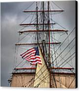 Star Of India Stars And Stripes Canvas Print