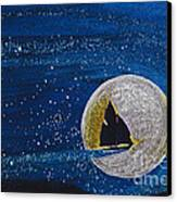 Star Sailing By Jrr Canvas Print by First Star Art