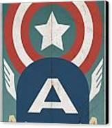 Star-spangled Avenger Canvas Print