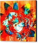 Starburst Nebula Canvas Print by Roberto Prusso