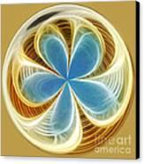 Starfish To Flower - Orb 2 Canvas Print