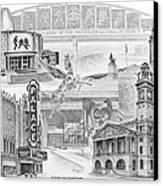 Stark County Ohio Print - Canton Lives Canvas Print by Kelli Swan