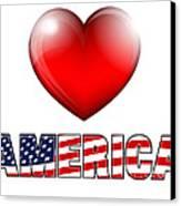 Love America Canvas Print by Fenton Wylam