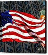 Stars And Stripes Canvas Print by Rene Triay Photography
