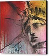 Statue Of Liberty New York Painting Canvas Print by Svetlana Novikova