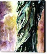 Statue Of Liberty Part 4 Canvas Print