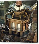 Steam City Canvas Print by Marc Orphanos