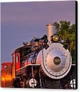 Steam Engine Number 509 Canvas Print