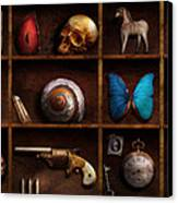 Steampunk - A Box Of Curiosities Canvas Print