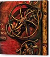 Steampunk - Clockwork Canvas Print