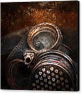 Steampunk - Doomsday  Canvas Print by Mike Savad