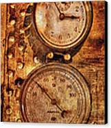Steampunk - Gauges Canvas Print