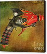 Steampunk - Gun - Electric Raygun Canvas Print by Paul Ward