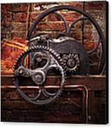 Steampunk - No 10 Canvas Print by Mike Savad