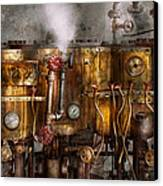 Steampunk - Plumbing - Distilation Apparatus  Canvas Print