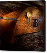 Steampunk - Plumbing - The Home Of A Stoker  Canvas Print by Mike Savad