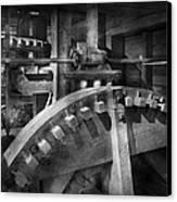 Steampunk - Runs Like Clockwork Canvas Print