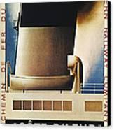 Steamship Travel Poster Canvas Print by Granger