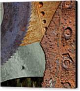 Steel Collage Canvas Print