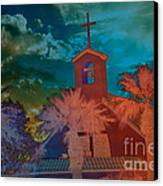 Steeple Bell Tower Canvas Print by Beverly Guilliams