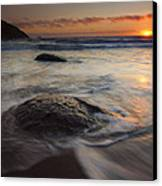 Stepping Stones Canvas Print by Mike  Dawson