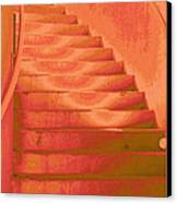 Steps Canvas Print by Wendy J St Christopher