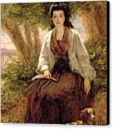 Sternes Maria, From A Sentimental Canvas Print by William Powell Frith