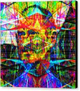 Steve Jobs Ghost In The Machine 20130618 Square Canvas Print
