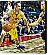 Steve Nash In Action Canvas Print