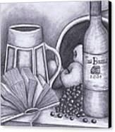 Still Life Drawing Canvas Print