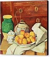 Still Life With A Chest Of Drawers Canvas Print