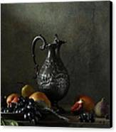 Still Life With A Jug And A Snake Canvas Print