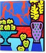 Still Life With Matisse Canvas Print by John  Nolan