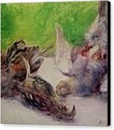 Still Life With Pheasants  Canvas Print