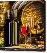 Still Life With Two Barrels.  Canvas Print