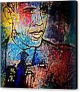 Still The One Canvas Print by Wendie Busig-Kohn