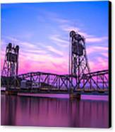 Stillwater Lift Bridge Canvas Print by Adam Mateo Fierro