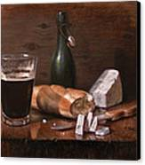 Stilton And Porter Canvas Print by Timothy Jones