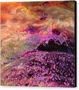 Stirrings In The Sea Canvas Print