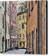 Stockholm 15 Canvas Print by Yury Malkov