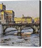Stockholm 4 Canvas Print by Yury Malkov