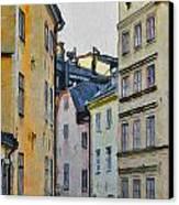 Stockholm 8 Canvas Print by Yury Malkov