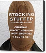 Stocking Stuffer  Uncut Canvas Print by Lorenzo Laiken