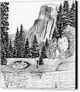 Stone Bridge Canvas Print by Al Intindola