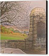 Stone Gate Canvas Print by Tom Gari Gallery-Three-Photography
