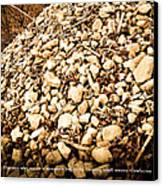 Stones Canvas Print by BandC  Photography