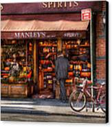 Store - Wine - Ny - Chelsea - Wines And Spirits Est 1934  Canvas Print by Mike Savad